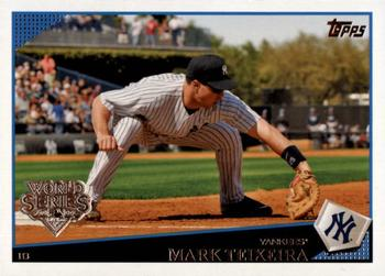 2009 Topps New York Yankees - World Series #NYY2 Mark Teixeira Front