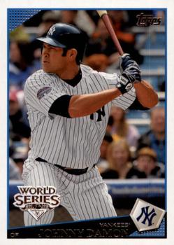 2009 Topps New York Yankees - World Series #NYY13 Johnny Damon Front