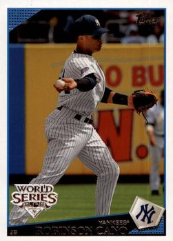 2009 Topps New York Yankees - World Series #NYY19 Robinson Cano Front