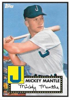 2012 Topps National Convention - VIP Promos #409 Mickey Mantle Front