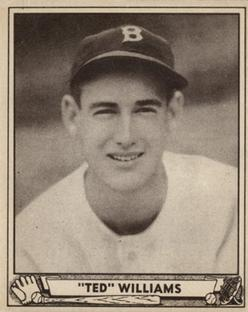 1940 Play Ball #27 Ted Williams Front