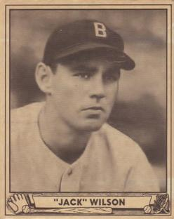 1940 Play Ball #31 Jack Wilson Front