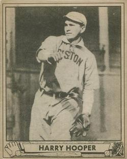 1940 Play Ball #226 Harry Hooper Front