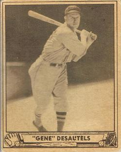 1940 Play Ball #28 Gene Desautels Front