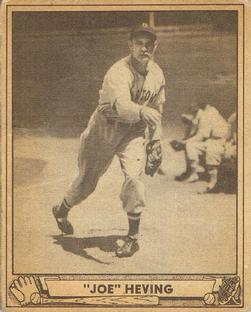 1940 Play Ball #35 Joe Heving Front
