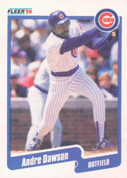 1990 Fleer #29 Andre Dawson Front