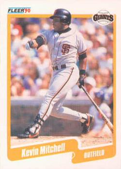 1990 Fleer #65 Kevin Mitchell Front
