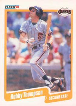 1990 Fleer #73 Robby Thompson Front