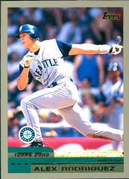 2000 Topps #100 Alex Rodriguez Front