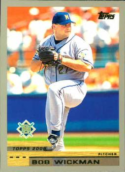 2000 Topps #126 Bob Wickman Front