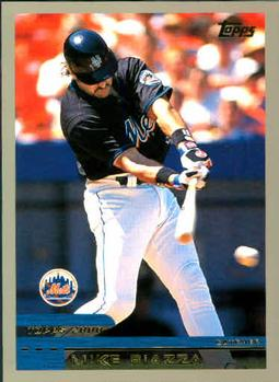 2000 Topps #300 Mike Piazza Front