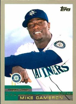 2000 Topps #335 Mike Cameron Front