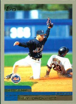 2000 Topps #37 Rey Ordonez Front