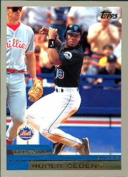 2000 Topps #65 Roger Cedeno Front