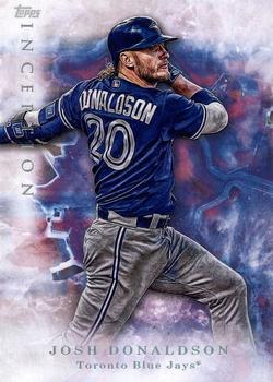 2017 Topps Inception #8 Josh Donaldson Front
