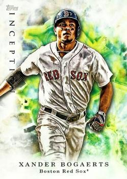 2017 Topps Inception #11 Xander Bogaerts Front