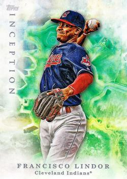 2017 Topps Inception #15 Francisco Lindor Front