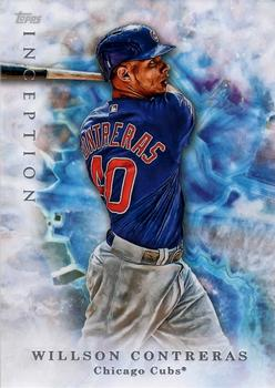 2017 Topps Inception #57 Willson Contreras Front