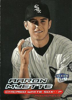 2000 Ultra #296 Aaron Myette Front