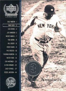 2000 Upper Deck Yankees Legends #52 Babe Ruth Front