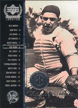 2000 Upper Deck Yankees Legends #56 Yogi Berra Front