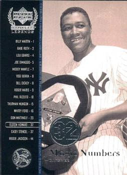 2000 Upper Deck Yankees Legends #63 Elston Howard Front