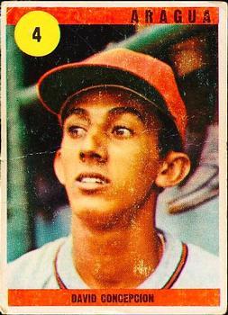 1970 Ovenca Venezuelan #4 Dave Concepcion Front