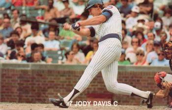 1984 7-Up Chicago Cubs #NNO Jody Davis Front