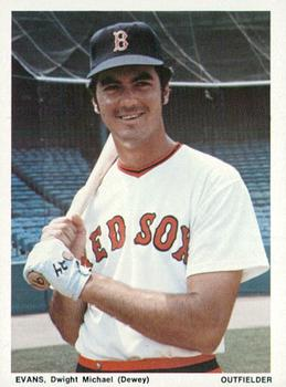 1974 Boston Red Sox Yearbook Cards #NNO Dwight Evans Front