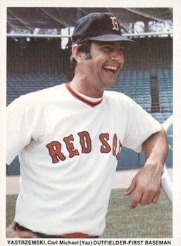 1974 Boston Red Sox Yearbook Cards #NNO Carl Yastrzemski Front
