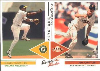 2003 Fleer Double Header Keystone Combinations Baseball