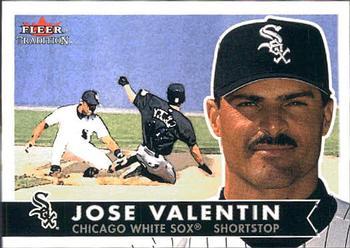 2001 Fleer Tradition #180 Jose Valentin Front