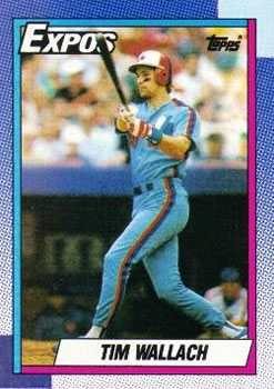 1990 Topps #370 Tim Wallach Front
