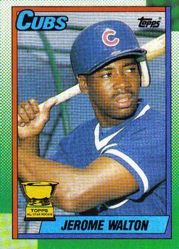 1990 Topps #464 Jerome Walton Front