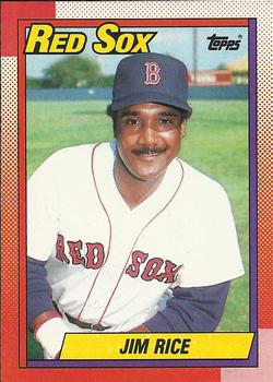 1990 Topps #785 Jim Rice Front