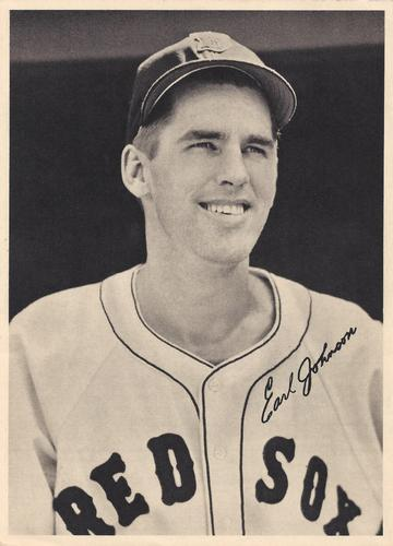 1950 Boston Red Sox Picture Pack #NNO Earl Johnson Front