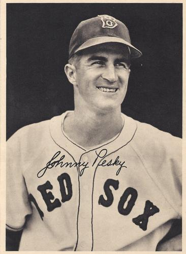 1950 Boston Red Sox Picture Pack #NNO Johnny Pesky Front