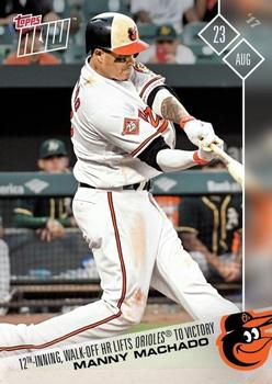 2017 Topps Now #513 Manny Machado Front