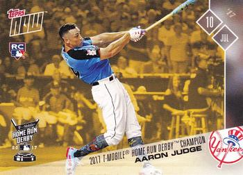 2017 Topps Now #HRDB-1 Aaron Judge Front