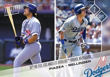 2017 Topps Now #548 Mike Piazza / Cody Bellinger Front