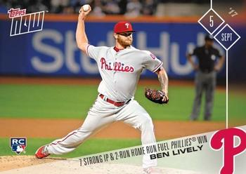 2017 Topps Now #564 Ben Lively Front