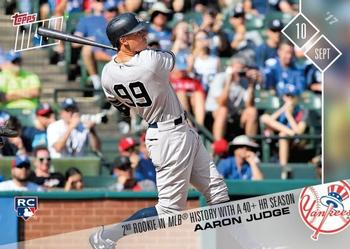 2017 Topps Now #585 Aaron Judge Front