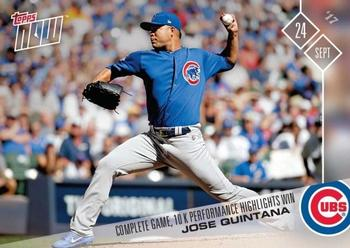 2017 Topps Now #651 Jose Quintana Front