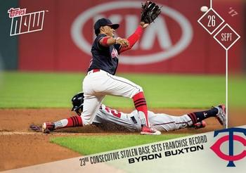 2017 Topps Now #658 Byron Buxton Front