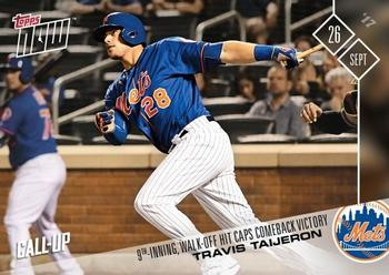 2017 Topps Now #659 Travis Taijeron Front