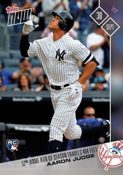2017 Topps Now #674 Aaron Judge Front