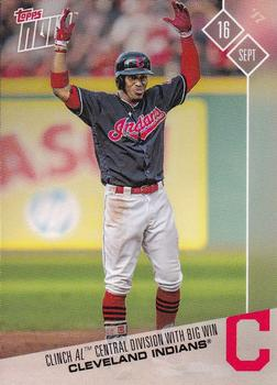 2017 Topps Now #614 Cleveland Indians Front