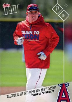 2017 Topps Now #NNO Mike Trout Front