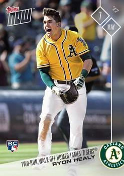 2017 Topps Now #120 Ryon Healy Front