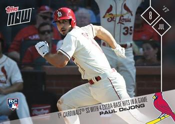 2017 Topps Now #340 Paul DeJong Front